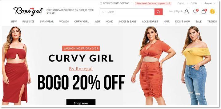 e82ead6603de2 Rosegal – крупный интернет-магазин Китая, специализирующийся на продаже  одежды в стиле Винтаж. Это направление, которое ориентируется на  возрождение моды ...
